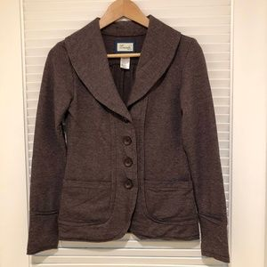 Brown Stretchy Jacket - size S / XS
